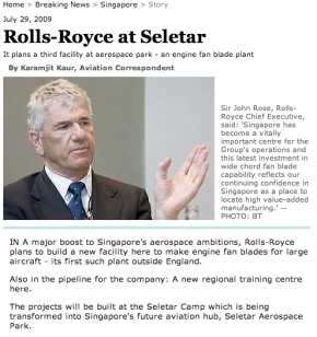 Rolls Royce expands