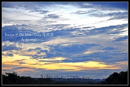 Sunrise @ Old Seletar Camp