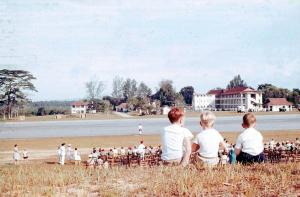 RAF Seletar Parade 1960